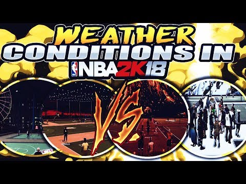 Weather Conditions Coming To 2K18? Make It Rain/Snow In MyPark! Players Slip, Fall And Brake Bones !