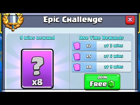New Epic Challenge Clash Royale Update