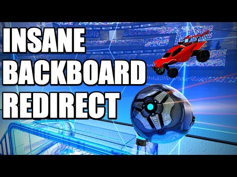 INSANE BACKBOARD REDIRECT   Rocket League Goal of the Day #20 (Best Goals / Plays)