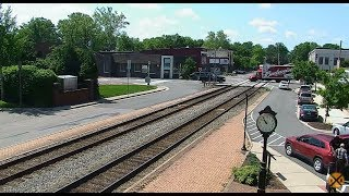 Ashland, Virginia USA Virtual Railfan LIVE
