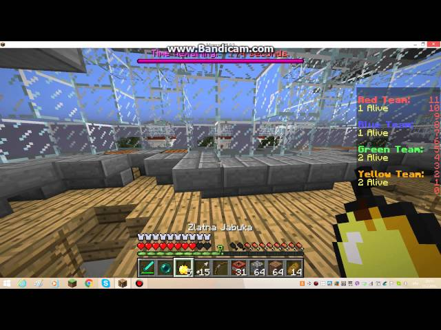 Minecraft mini igre sky wars 2 ep!!!!!! thumbnail