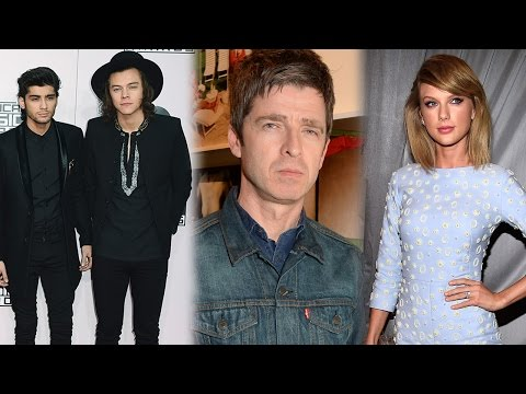 Taylor Swift & One Direction Dissed By Oasis Singer Noel Gallagher video