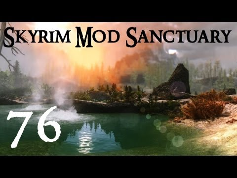 Skyrim Mods 76 - DragonPorn, Halofarm, Posh Mudcrab Tees!! | How To