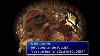 Final Fantasy VII - Aeris and Zack Secret Scene