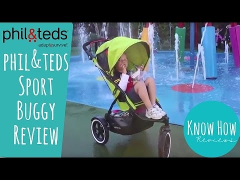 phil&teds Sport Buggy Review. Know How Reviews