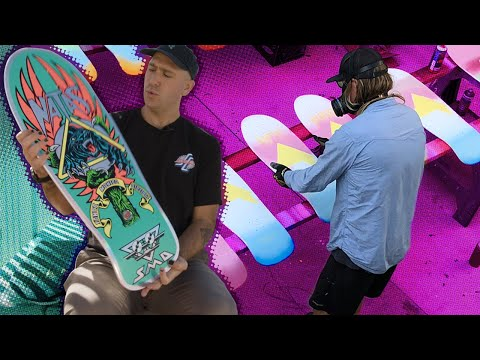 "WHAT is IN the Natas Blind Bags?! ""Unboxing"" with Santa Cruz Skateboards"