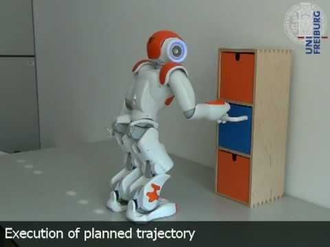 Whole-Body Motion Planning for Manipulation of Articulated Objects with a Nao Humanoid (ICRA 2013)