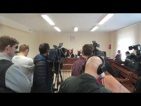 Ogłoszenie Wyroku Marta Cichocka Policja
