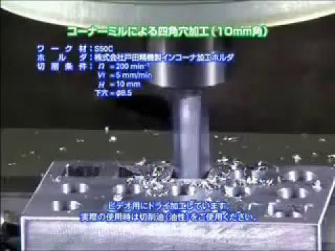 Perforacion cuadrada