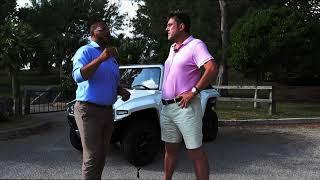Bermuda car review - an electric Hummer!