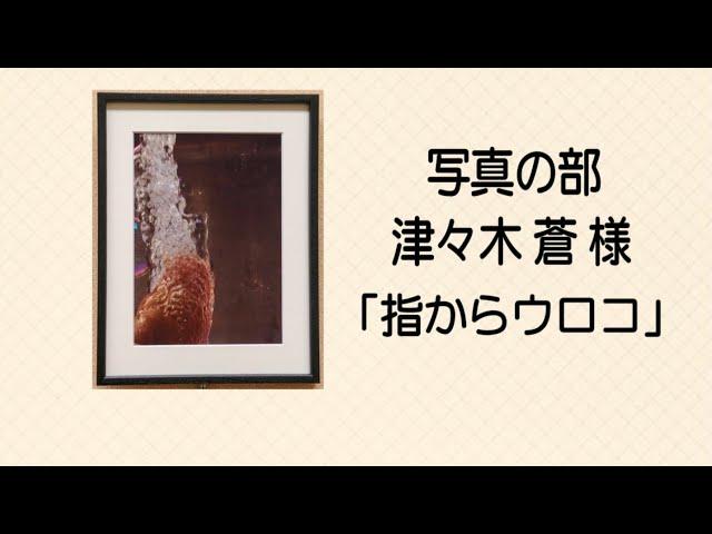 ⑫【写真の部 津々木蒼様「指からウロコ」】第55回名古屋市障害者作品展 12/12の動画のサムネイル