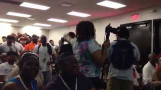 Atlanta rapper gets shut down at ATL MixShowLive 2013