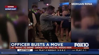 Daphne officer dance video goes viral