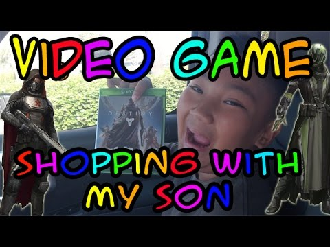 Video Game Shopping With My Son - It's Our Destiny