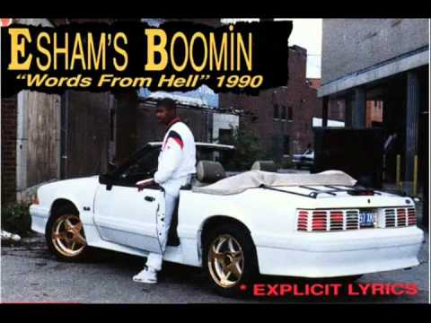 Esham - Boomin' Words From Hell (1990) - My 9 Rhymes