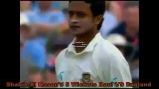 Shakib Al Hasan's 5-7 Test Wickets vs Africa. UPLOADED BY ZAHID