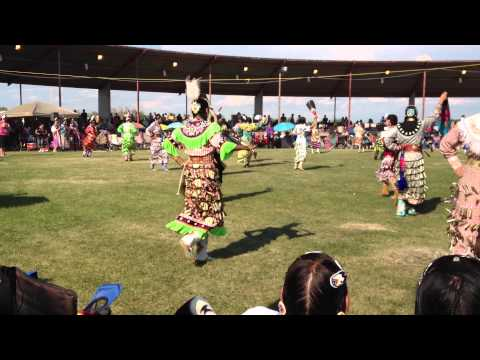 Teen Girls Jingle At Samson Powwow 2013 video