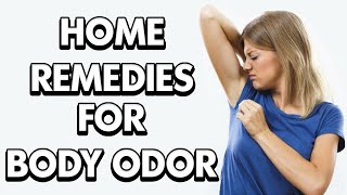 ✅Body odor causes || how to get rid of bad body odor quickly 2020