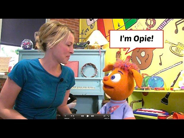 Opie reads Chirp Magazine!