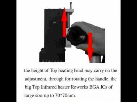 ACHI IR6000/ACHI IR-6000 Infrared BGA Rework Station