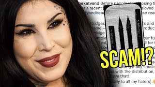KAT VON D CAUGHT IN A SCAM!?