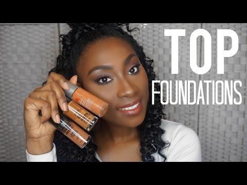 Top 7 Drugstore Foundations for Dark Skin   Staceychellz