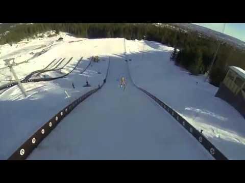 Прыгать с трамплина на лыжах голыми теперь модно