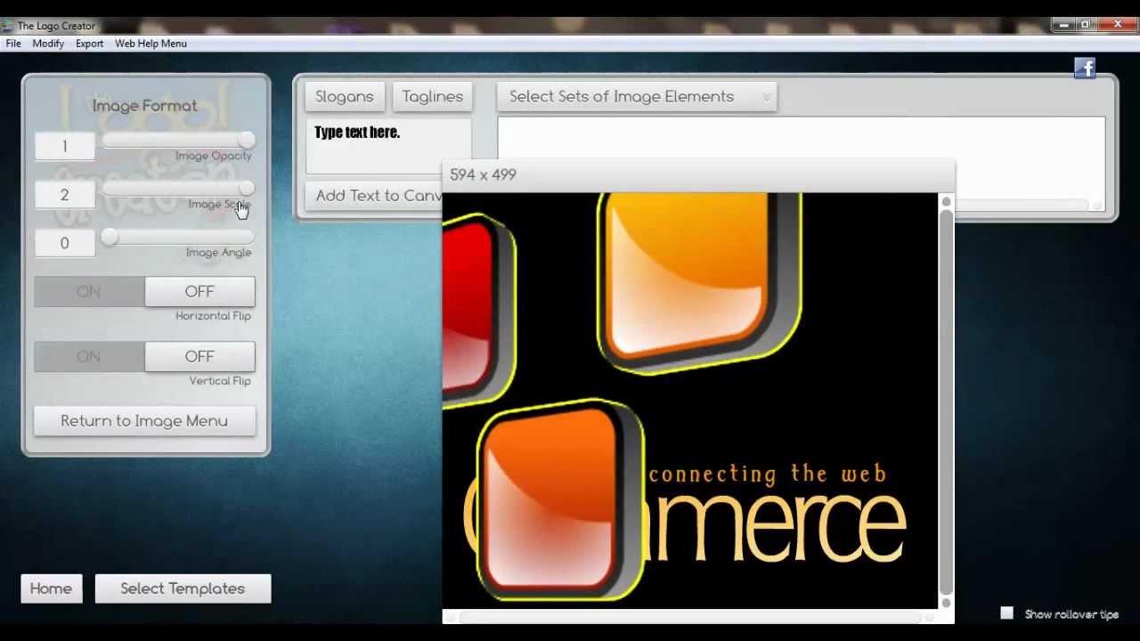 Easy logo design software
