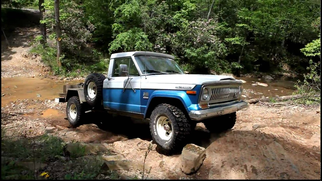 Full Size Jeeps On Dickey Bell At Uwharrie National Forest