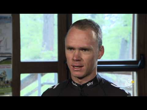 Fr - Magazine 100% Tour   Christopher Froome - Étape 2 (bastia - Ajaccio) video