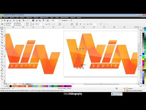 Tutorial 2: Crea tu propio Logo en Corel Draw X6 / How to create your own logo in Corel Draw X6