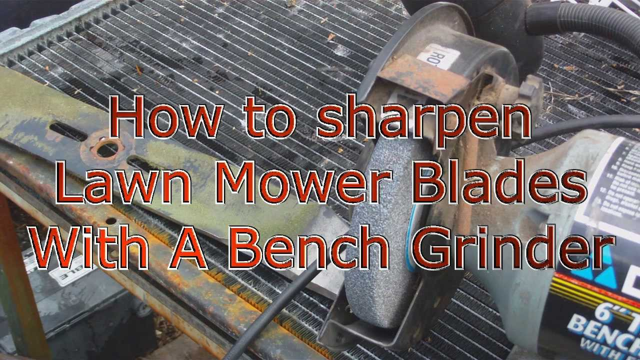 you tube how to use bench grinder