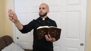 PRIEST GETS RID OF EVIL SPIRITS IN OUR HOME.. | FaZe Rug