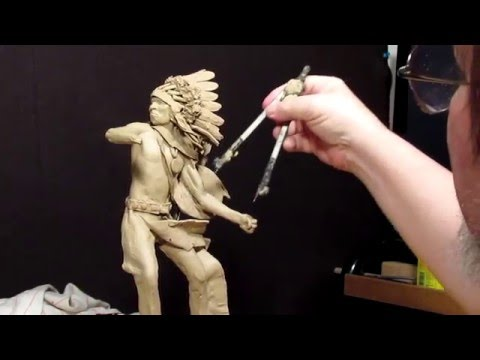 Sculpting With Lemon - Detailing on the APPROACHING STORM S man on the ground