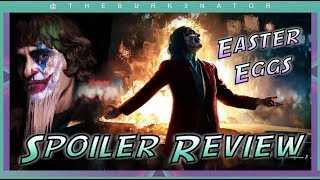 Joker SPOILER Review - Easter Eggs and more