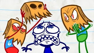 Pencilmate Gets IGNORED?! | Animated Cartoons Characters | Animated Short Films