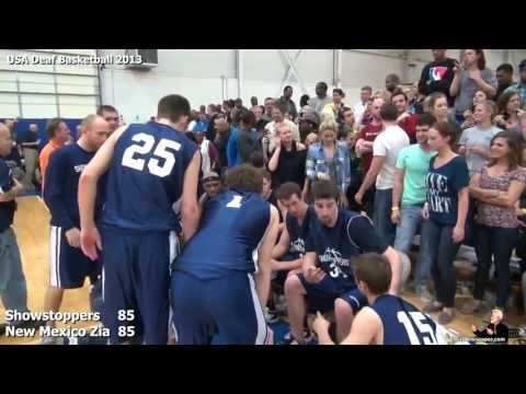 2013 USA Deaf Basketball #10
