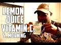 Drinking Lemon Juice With Warm Water Every Morning For 5 Day | SEE WHAT HAPPENED TO YOUR BODY