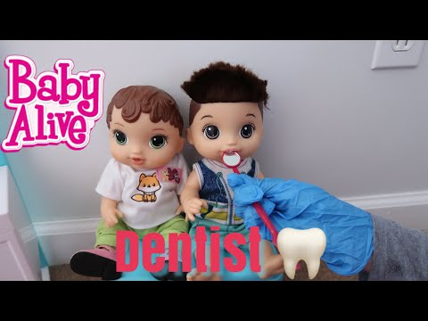 BABY ALIVE Abby And Drake Go To The Dentist