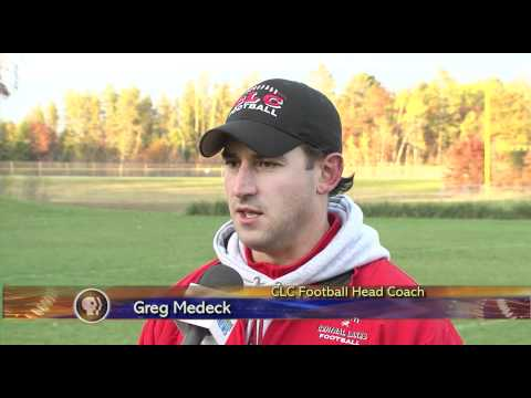 Central Lakes College Football - Lakeland News Sports - October 18, 2011.m4v