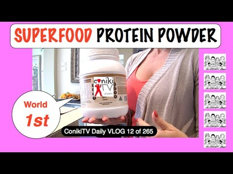 SUPERFOOD PROTEIN POWDER Coming Soon ConikiTV Daily VLOG 12of365
