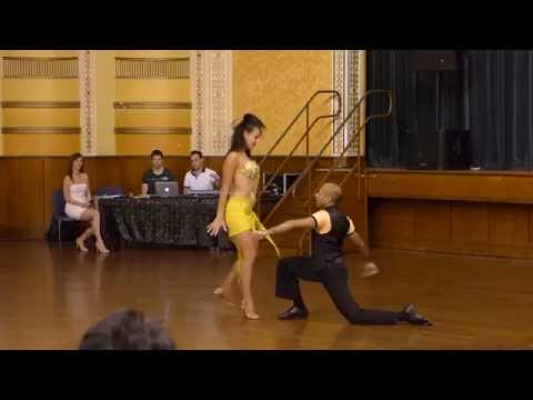 2015 Australian Bachata Championship - Pro/Am Couple - Shehan and Ellicia
