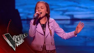 Mandy Performs 'The Climb': The Semi Final | The Voice Kids UK 2018