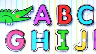 ABC Alphabet Song for Preschool Kids / Sing along!