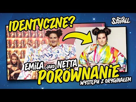 EMILIA KOMARNICKA - KLYNSTRA jako NETTA - PORÓWNANIE Z ORYGINAŁEM | szopall