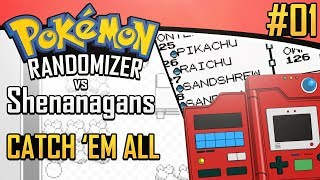 Pokemon Randomizer Catch 'Em All Race vs Shenanagans #1
