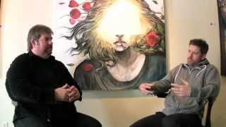 American Artist Darren LeGallo, Interviewed by Trigg Ison, Trigg ison Fine Art, West Hollywood, Ca.