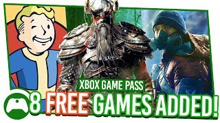 8 FREE Games! | Xbox Game Pass E3 Special