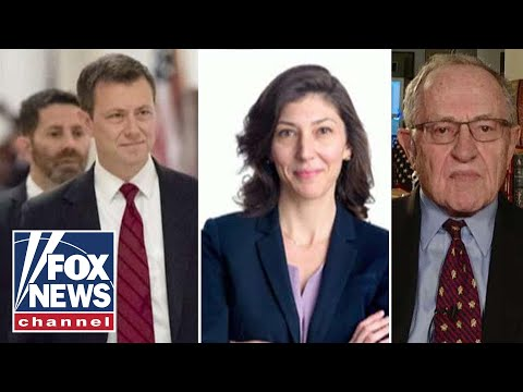 Dershowitz on Strzok, Page 'media leaking strategy'