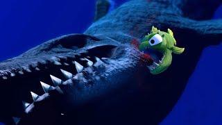 Download Lagu ONE SMALL FISH DEFEATS A MOSASAURUS?! - Feed and Grow Fish - Part 52 | Pungence Gratis STAFABAND
